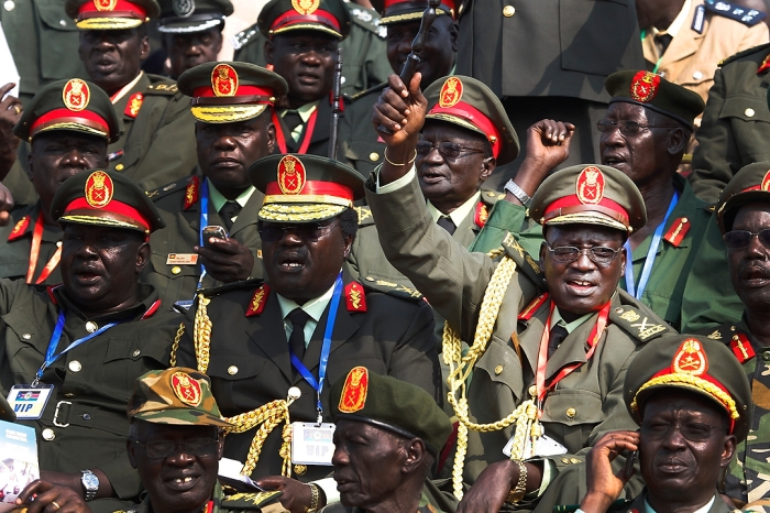 Article 3 - South Sudan (2) SPLA Officers